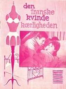 La française et l'amour - Danish Movie Poster (xs thumbnail)