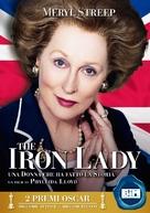 The Iron Lady - Italian Movie Cover (xs thumbnail)