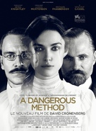 A Dangerous Method - French Movie Poster (xs thumbnail)