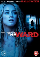 The Ward - British DVD cover (xs thumbnail)