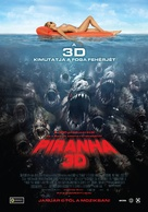 Piranha - Hungarian Movie Poster (xs thumbnail)
