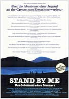 Stand by Me - German Movie Poster (xs thumbnail)