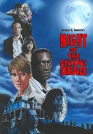 Night of the Living Dead - German DVD cover (xs thumbnail)