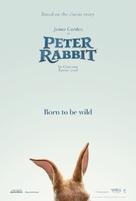 Peter Rabbit - British Teaser movie poster (xs thumbnail)