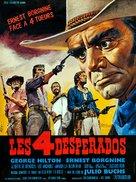 Los desesperados - French Movie Poster (xs thumbnail)