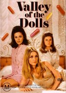 Valley of the Dolls - Australian DVD movie cover (xs thumbnail)