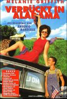 Crazy in Alabama - German DVD cover (xs thumbnail)