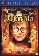 The Pagemaster - British DVD cover (xs thumbnail)