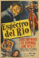 House by the River - Argentinian Movie Poster (xs thumbnail)