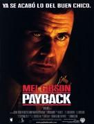 Payback - Spanish Movie Poster (xs thumbnail)