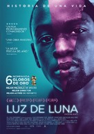 Moonlight - Argentinian Movie Poster (xs thumbnail)