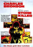 The Stone Killer - Swedish Movie Poster (xs thumbnail)