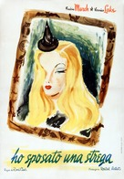 I Married a Witch - Italian Movie Poster (xs thumbnail)