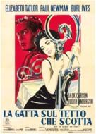 Cat on a Hot Tin Roof - Italian Movie Poster (xs thumbnail)
