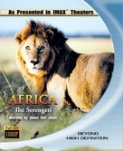 Africa: The Serengeti - Blu-Ray movie cover (xs thumbnail)