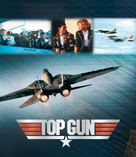 Top Gun - German Blu-Ray cover (xs thumbnail)