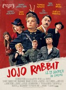 Jojo Rabbit - French Movie Poster (xs thumbnail)