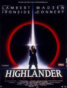 Highlander 2 - French Movie Poster (xs thumbnail)