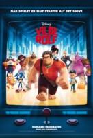 Wreck-It Ralph - Danish Movie Poster (xs thumbnail)