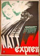 Night Train to Munich - Swedish Movie Poster (xs thumbnail)