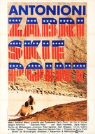 Zabriskie Point - Italian Movie Poster (xs thumbnail)