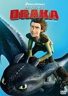 How to Train Your Dragon - Czech DVD movie cover (xs thumbnail)
