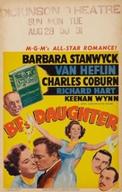 B.F.'s Daughter - Movie Poster (xs thumbnail)
