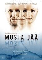Musta jää - Finnish Movie Poster (xs thumbnail)