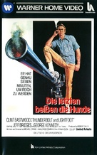 Thunderbolt And Lightfoot - German VHS movie cover (xs thumbnail)