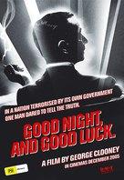 Good Night, and Good Luck. - Australian Movie Poster (xs thumbnail)
