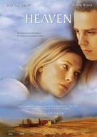 Heaven - German Movie Poster (xs thumbnail)