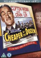 Cheaper by the Dozen - British Movie Cover (xs thumbnail)
