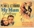 My Man Godfrey - British Theatrical poster (xs thumbnail)