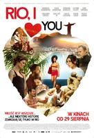 Rio, Eu Te Amo - Polish Movie Poster (xs thumbnail)