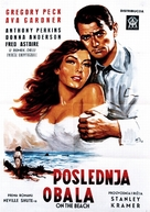 On the Beach - Yugoslav Movie Poster (xs thumbnail)