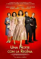 A Royal Night Out - Italian Movie Poster (xs thumbnail)