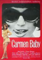 Carmen, Baby - German Movie Poster (xs thumbnail)