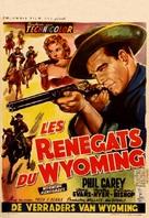 Wyoming Renegades - Belgian Movie Poster (xs thumbnail)