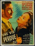 Smash-Up: The Story of a Woman - French Movie Poster (xs thumbnail)