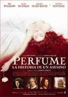 Perfume: The Story of a Murderer - Argentinian Movie Poster (xs thumbnail)
