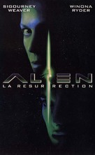 Alien: Resurrection - French VHS cover (xs thumbnail)