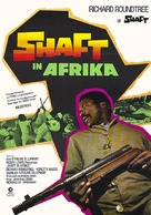 Shaft in Africa - German Movie Poster (xs thumbnail)