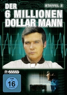 """The Six Million Dollar Man"" - German DVD movie cover (xs thumbnail)"