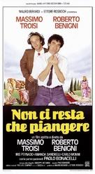 Non ci resta che piangere - Italian Theatrical poster (xs thumbnail)