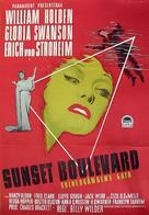 Sunset Blvd. - Swedish Movie Poster (xs thumbnail)