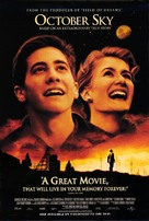 October Sky - Movie Poster (xs thumbnail)