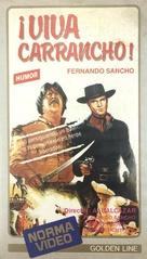 Uomo che viene da Canyon City, L' - Spanish VHS movie cover (xs thumbnail)