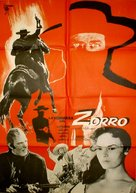 La venganza del Zorro - Spanish Movie Poster (xs thumbnail)