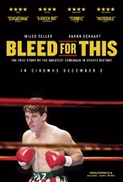 Bleed for This - British Movie Poster (xs thumbnail)