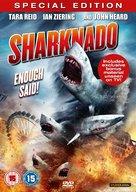 Sharknado - British DVD movie cover (xs thumbnail)
